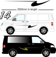 Vehicle Graphic Decals Self Adhesive Vinyl Stickers All Vehicle Camper Vans D14