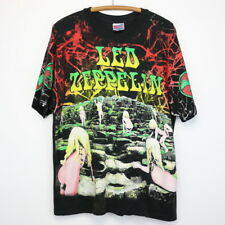Led Zeppelin Shirt Vintage tshirt 1992 Houses Of The Holy All Over Print Rock