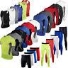 Mens Compression Base Layer Tights Tops Thermal T Shirts Shorts Pants Sportswear