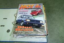 Hot4s Magazines - Issues No 1, 2, 3, 4, 5, 6, 7, 8, 9. Rare Collectors Editions!