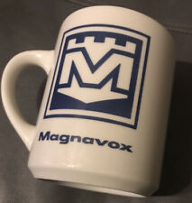 New ListingVintage Magnavox Electronics Coffee Cup Mug The Magiec Circle Fort Wayne Indiana