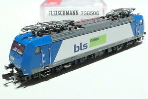Fleischmann N SBB BLS Cargo 185 525-3 blau silber 738506 NEU OVP