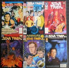 STAR TREK +NEXT GENERATION 15 ANNUALS OR SPECIALS ALL NM MINUS AVERAGE !