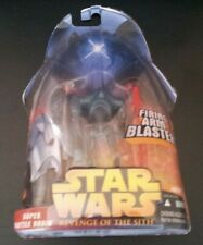 STAR WARS SUPER BATTLE DROID #4 REVENGE OF SITH ACTION FIGURE + FIRING ARM NEW