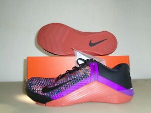 New Nike Metcon  6 Black  Blue Multi Color Training Shoes sz 8