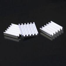 20pcs 13mm 13x13x3mm Aluminum IC PC VGA Card Xbox360 PS DDR RAM Memory Heatsink