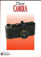 Classic Camera  N.66 Maggio 2008  rivista in italiano collezionismo fotografico