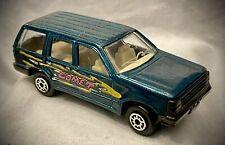 1991 MAISTO - Ford Explorer - Metallic Green COMET - Diecast 1:64