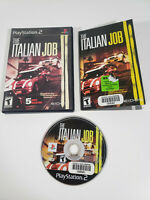 The Italian Job - Sony PlayStation 2 PS2 - Complete w/ Manual - Tested, Works