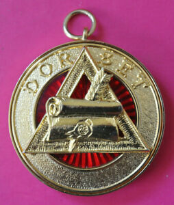 Dorset Past Provincial Grand Registrar masonic Royal Arch Chapter jewel