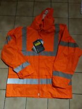 Warnregenjacke Regenjacke Orange Gr. L Portwest