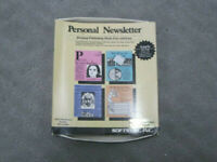Vintage | Softsync | Personal Newsletter For The Apple IIGS, IIe & IIc | 1987
