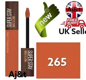Maybelline SuperStay Coffee Edition high pigmentation Lipstick  265