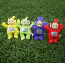 "Teletubbies Set of 4 Plush Dolls Featuring 9"" Po Dipsy Laa Laa and Tinky Winky"