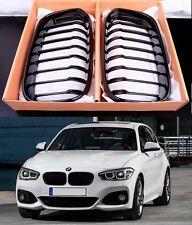 Pair M PERFORMANCE GLOSS BLACKGRILLSfor BMW 1SERIES F20 F21 15-ON LCI M135i