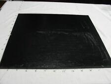 "Polyurethane/Urethane Sheet  1/2"" x 24"" x 24""   70 Duro A Black #5025"