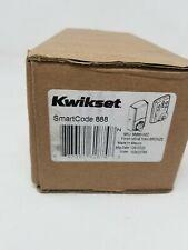 Kwikset Smartcode 888 Smart Lock Touchpad Deadbolt, Venetian Bronze, (98880-002)