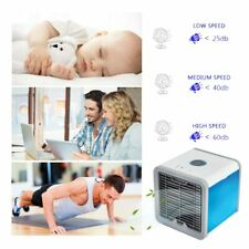 USB Mini Portable Air Conditioner Humidifier Purifier 7 Colors Light Desktop Air