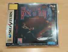 The House of the Dead Sega Saturn Japanese Import Complete