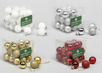 Pz 18 Box sfere combi mm 50 albero di natale decorazioni addobbi natalizi