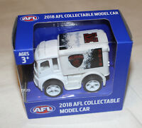 Melbourne Demons 2018 AFL Official Supporter Collectable Mini Truck Model New