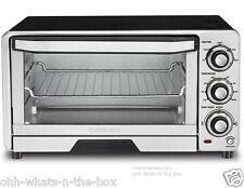 Toaster Oven Broiler Conveyor Pizza Bagel Cuisinart  6 Slice Toast Med 1800W