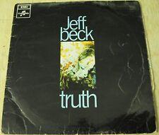 Jeff Beck Truth SCX 6293 UK issue vinyl LP 1968