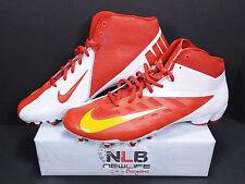 Nike Vapor Talon Elite Mid Football Cleats 543924-616 Men Sz 15 Red
