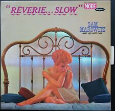 SAM MAROWITZ REVERIE SLOW JAZZ SAX ALTO SEXY COVER 33T LP BIEM VOGUE MODE 9307