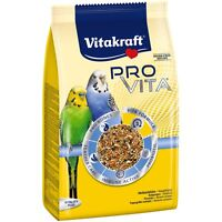 Vitakraft Pro Vita, Wellensittich Futter  800g Vogelfutter Sittichfutter Sittich