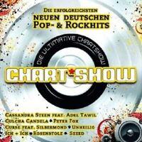 """DIE ULTIMATIVE CHARTSHOW """"DEUTSCHE POP &..."""" 2 CD NEU"""