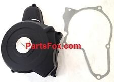 6-coil Stator Left Cover 90 110cc 125 cc Semi auto engine ATV Go Kart Bike black