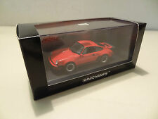 PORSCHE 911 TURBO TIPO 930 - 1977-Indian Red-Minichamps 1:43!