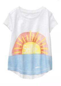 Gymboree Sunwashed Days Sun Shine NWT Girls Top Shirt Size 4t