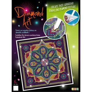 Table Art Diamond Rhinestone And Diamond Mandala -