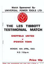 Away Teams F-K Ipswich Town Testimonial Football Programmes