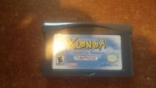 Video Gioco Retro Game Boy GBA advance Klonoa Empire of Dreams us