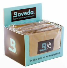 12 Packs Boveda 69% humipacks Factory Fresh Canada & International Buyers only!