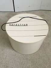 Large Vintage Nordstrom Hat Box Mid Century Gift Box 14� Excellent