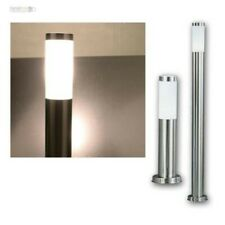 Exterior Stand LED Lamp Garden Path Lighting Stainless Steel Terrace Standing