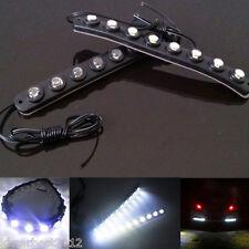 2 Pcs Car waterproof 3M Hawkeye LED Daytime Running Light DRL Fog Driving Lamp