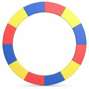 Durable 16FT Trampoline Replacement Safety Pad-Multicolor