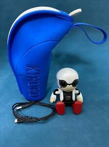 Toyota Kirobo Mini Communication Robot Handy Size with Blue Carry Case