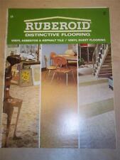 GAF Ruberoid Co Catalog~Flooring~Vinyl Asbestos Tile~1967