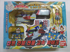 BANDAI SD GUNDAM FLEXTION : CAPTAIN GUNDAM'S PERSONAL HIGH SPEED BIKE EX01