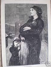 Homeless by E Buckman 1876 print