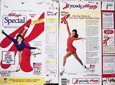 1991 Kristi Yamaguchi Figure Skating 12 oz Special K Cereal Box kz273