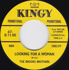 Northern Soul-BROOKS BROTHERS-Looking For A Woman / MELVIN DAVIES-Find A Quiet..