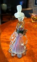 A Stunning Rare Murano Geisha With Uranium Glass Head