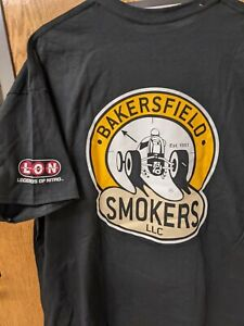 BAKERSFIELD SMOKERS LLC Legends of Nitro 2XL Tee SHIRT Black NEW Men's RACING